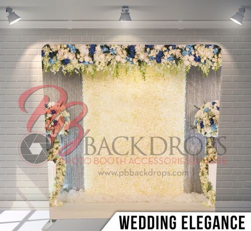 Single-sided Pillow Cover Backdrop  (Wedding Ellegance)