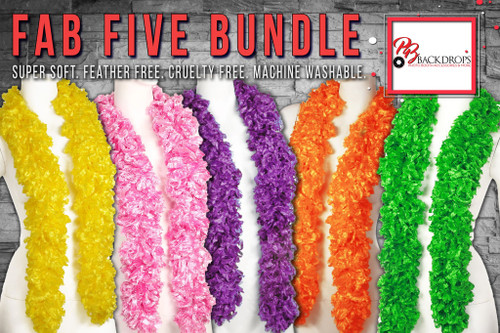Fab Five Boa Bundle