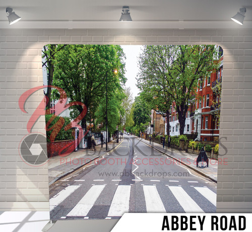 Single-sided Pillow Cover Backdrop  (Abby Road)