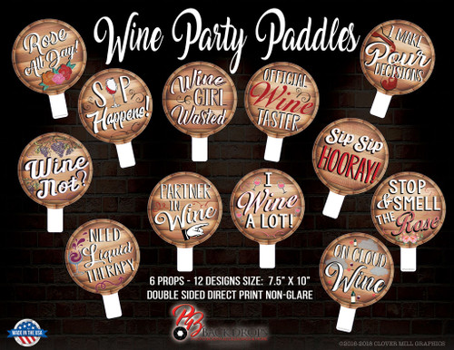 Wine Party Paddle Bundle