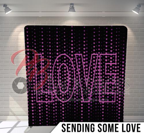 Single-sided Pillow Cover Backdrop  (Sending Some Love)