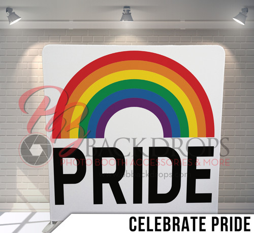 Single-sided Pillow Cover Backdrop  (Celebrate Pride)
