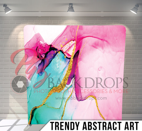 Single-sided Pillow Cover Backdrop  (Trendy Abstract Art)
