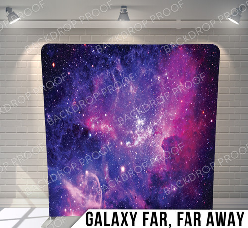 Single-sided Pillow Cover Backdrop  (Galaxy Far Far Away)