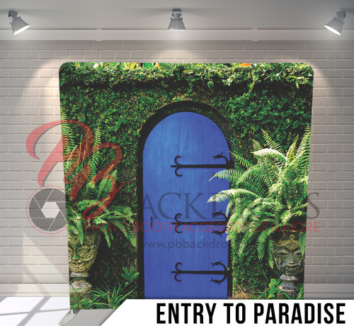 Single-sided Pillow Cover Backdrop  (Entry To Paradise)