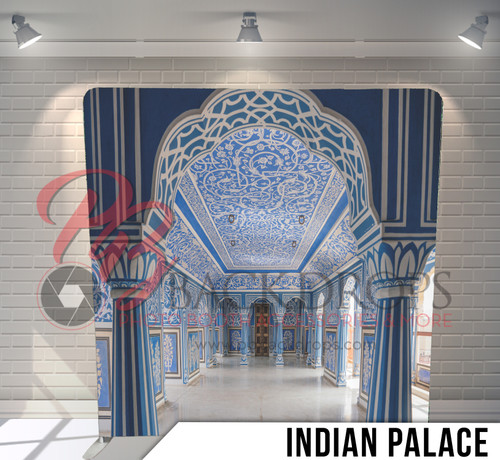 Single-sided Pillow Cover Backdrop  (Indian Palace)