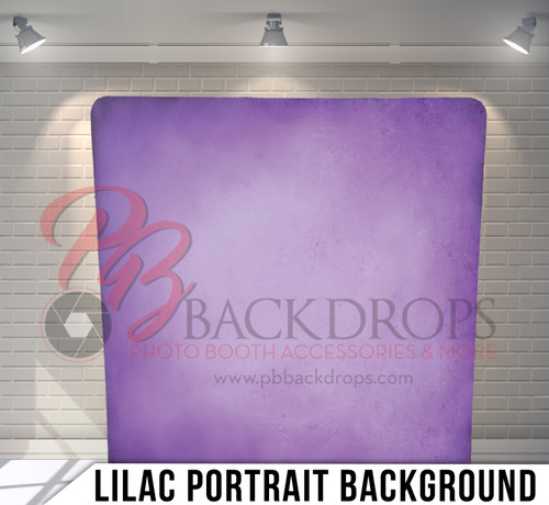 Single-sided Pillow Cover Backdrop  (Lilac Portrait Background)