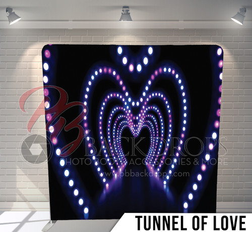 Single-sided Pillow Cover Backdrop  (Tunnel of Love)
