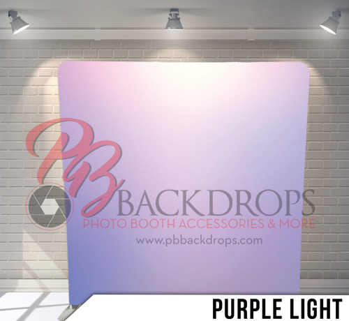 Single-sided Pillow Cover Backdrop  (Purple Light)