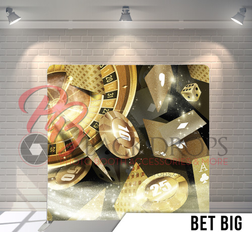 Single-sided Pillow Cover Backdrop  (Bet Big)