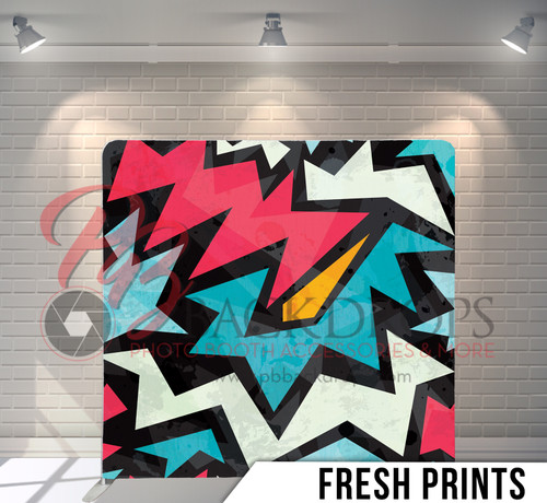 Single-sided Pillow Cover Backdrop  (Fresh Prints)