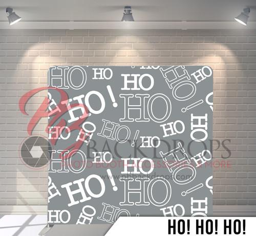 Single-sided Pillow Cover Backdrop  (Ho Ho Ho)