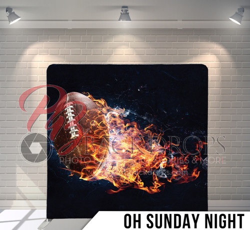 Single-sided Pillow Cover Backdrop  (On Sunday Night)