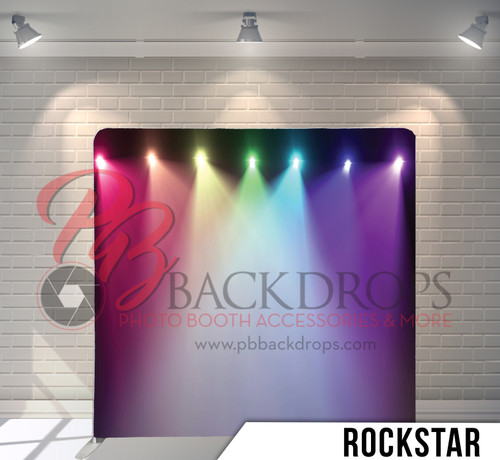 Single-sided Pillow Cover Backdrop  (Rockstar)