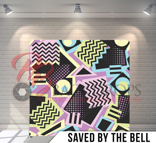 Single-sided Pillow Cover Backdrop  (Saved By the Bell)