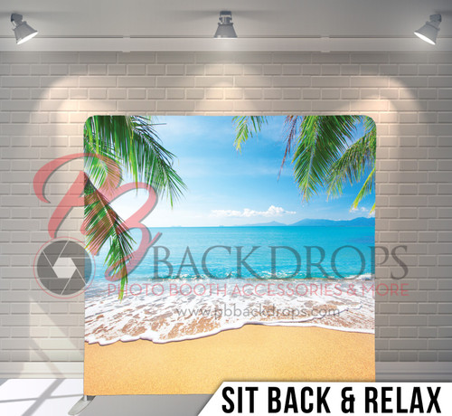 Single-sided Pillow Cover Backdrop  (Sit Back and Relax)