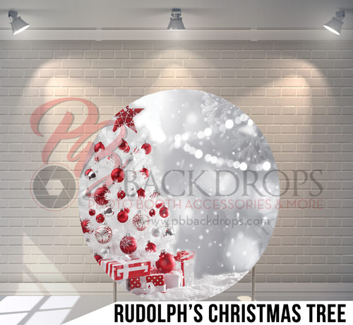 Circle Display 7ft. (Rudolph's Christmas Tree) Single side