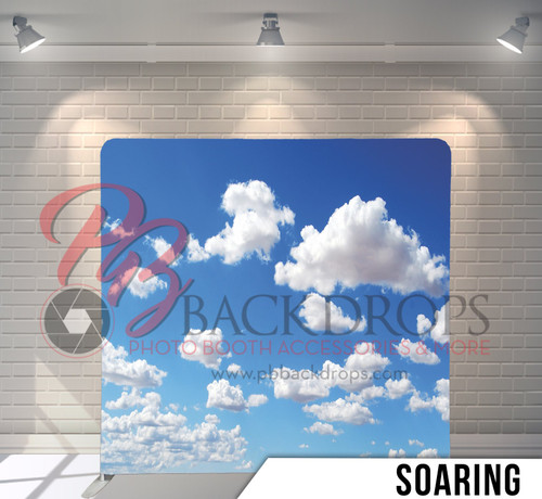 Single-sided Pillow Cover Backdrop  (Soaring)