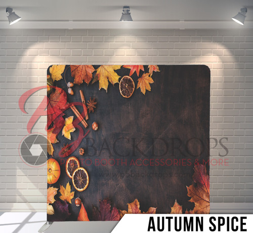 Single-sided Pillow Cover Backdrop  (Autumn Spice)