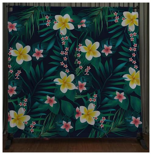 8x8 Printed Tension fabric backdrop - Aloha Vibe | PB Backdrops