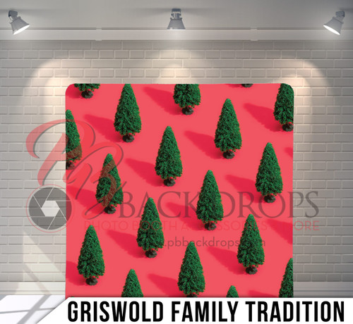 Single-sided Pillow Cover Backdrop  (Griswold Family Tradition)