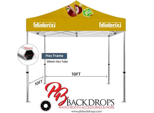 10x10 Advertising Tent (50mm Hex tube)