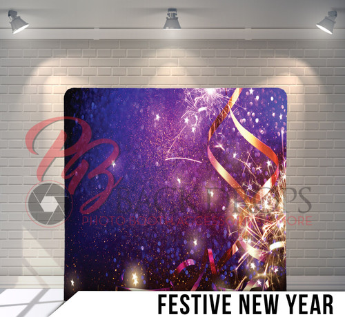 Single-sided Pillow Cover Backdrop  (Festive New Year)