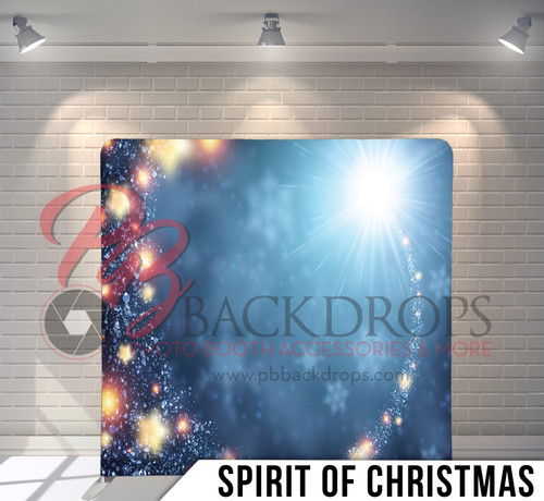 Single-sided Pillow Cover Backdrop  (Spirit of Christmas)