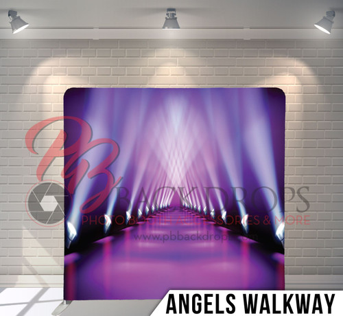 Single-sided Pillow Cover Backdrop  (Angels Walkway)