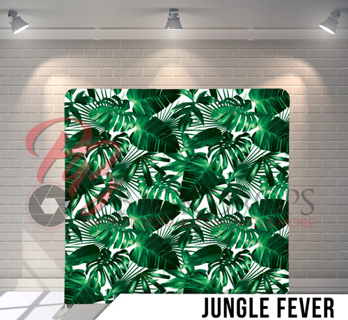 Single-sided Pillow Cover Backdrop  (Jungle Fever)
