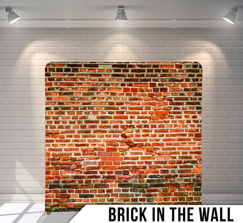Single-sided Pillow Cover Backdrop  (Brick in the Wall)