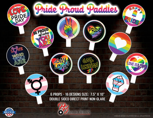 Pride Proud Paddles Bundle