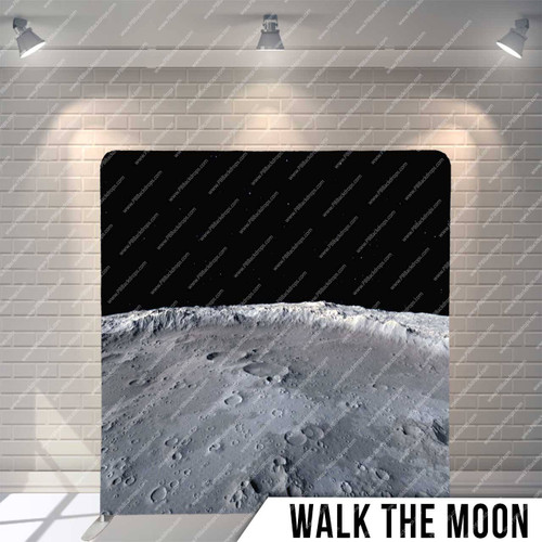 Single-sided Pillow Cover Backdrop  (Walk the Moon)