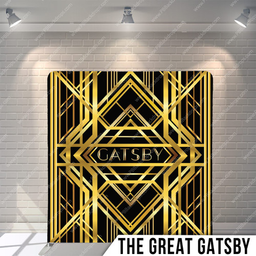 Single-sided Pillow Cover Backdrop  (The Great Gatsby)