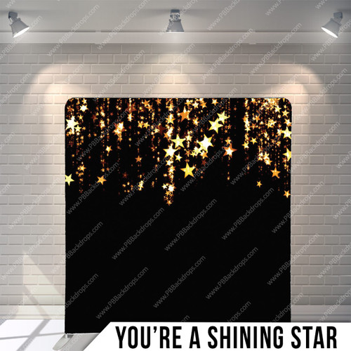 Single-sided Pillow Cover Backdrop  (You're a Shining Star)