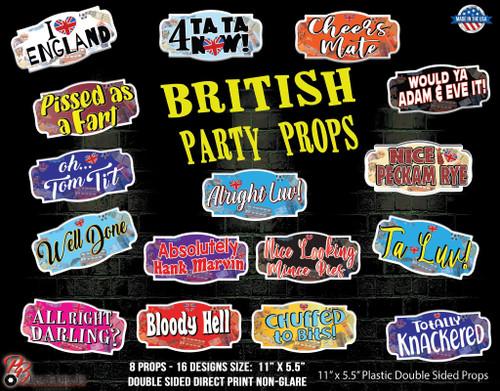 British Party Props Bundle