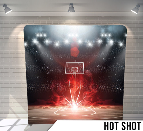 Single-sided Pillow Cover Backdrop  (Hot Shot)