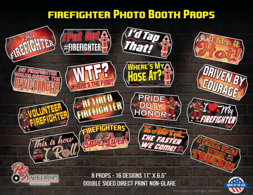 Firefighter Prop Bundle