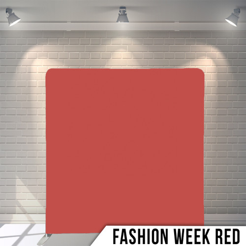 Single-sided Pillow Cover Backdrop  (Fashion Week Red)