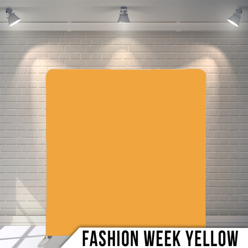 Single-sided Pillow Cover Backdrop  (Fashion Week Yellow)