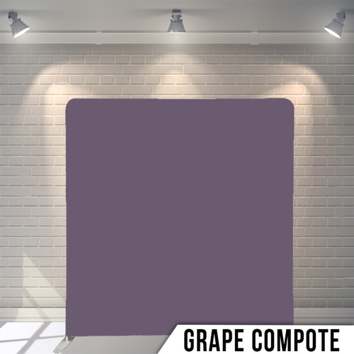 Copy of Single-sided Pillow Cover Backdrop  (Grape Compote)