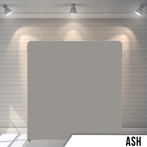 Single-sided Pillow Cover Backdrop  (Ash)