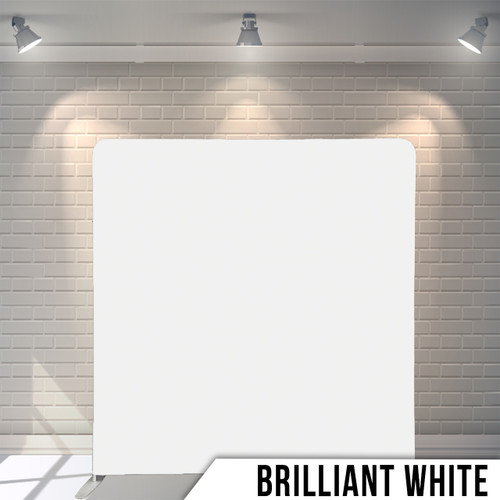 Single-sided Pillow Cover Backdrop  (Briliant White)