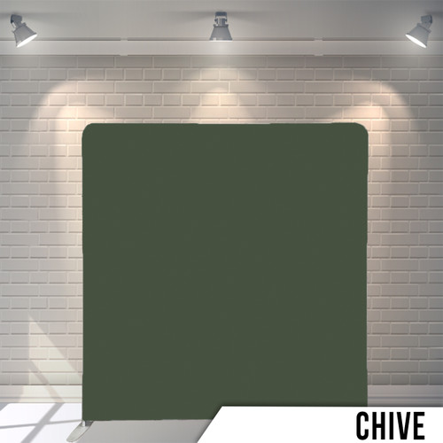 Single-sided Pillow Cover Backdrop  (Chive)