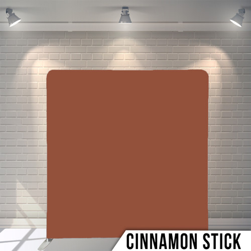 Single-sided Pillow Cover Backdrop  (Cinnamon Stick)