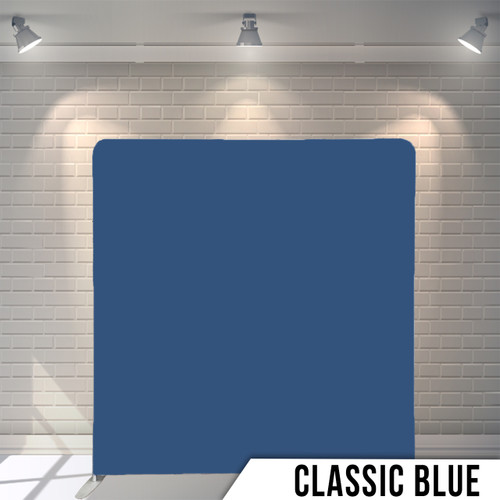 Single-sided Pillow Cover Backdrop  (Classic Blue)