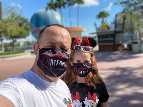 Custom Printed Reusable Face Masks (5,10,20, or 100 Masks)
