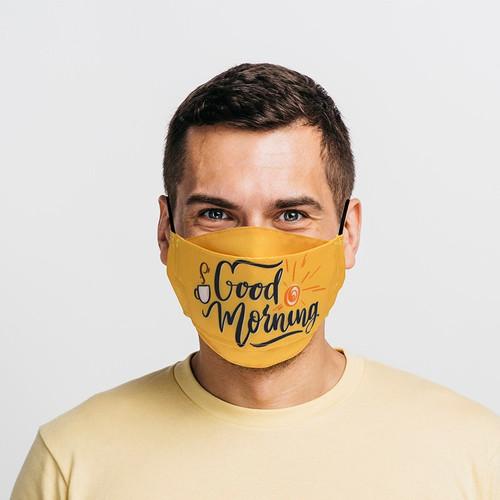 3D Flat-fold Face Masks (5,10,20, or 100 Masks)