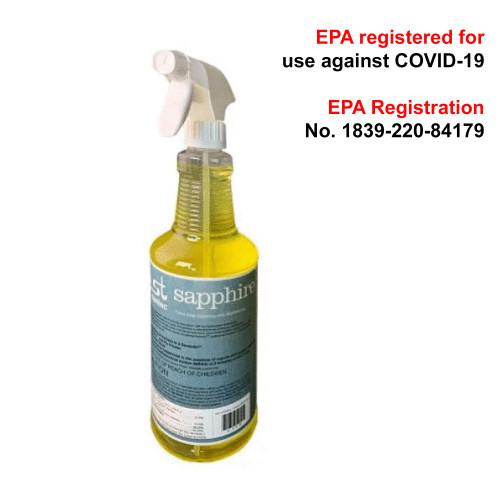 Santec Sapphire Disinfectant Cleaner - 8 Bottles