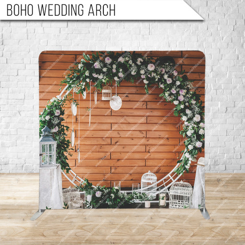 Single-sided Pillow Cover Backdrop  (Boho Wedding Arch)